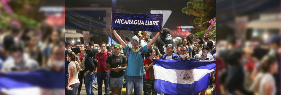 ¡NICARAGUA LIBRE!
